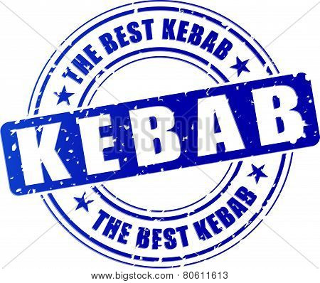 Kebab Stamp Icon