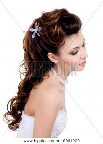 Beautiful Wedding Hairstyle