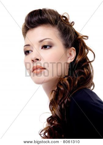 Portrait Of A Attractive Woman
