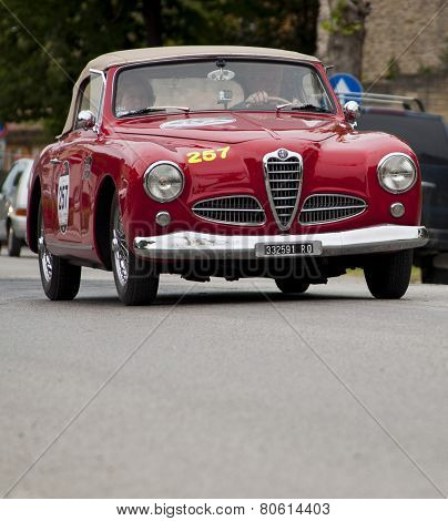 old car mille alfa romeo miglia 2014