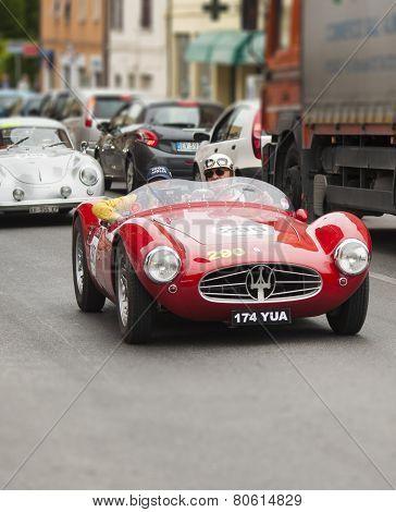 OLD CAR Maserati A6 GCS /53 Fantuzzi 1954 mille miglia 2014