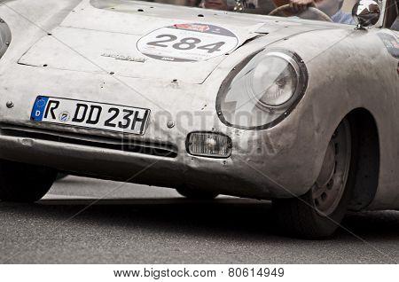 OLD CAR PORSCHE mille miglia 2014