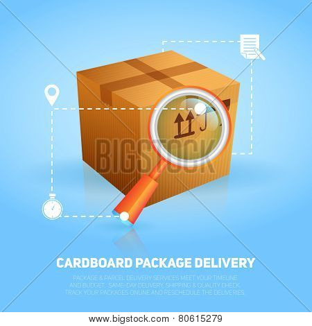 Logistic Package Poster