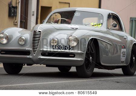 OLB CAR Alfa Romeo 6C 2500 SS Touring 1950 MILLE MIGLIA 2014