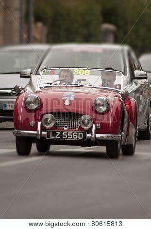 OLB CAR Triumph TR 2 Sports 1954 MILLE MIGLIA 2014