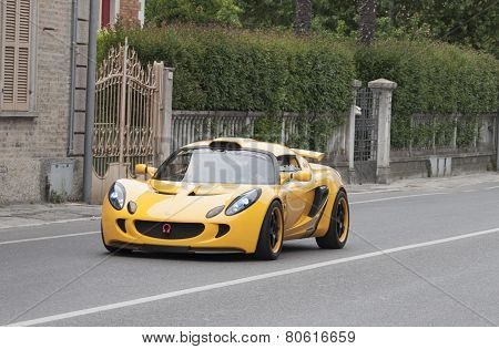 OLD CAR Lotus elise mille miglia 2014