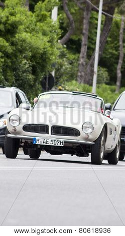 OLD CAR BMW 507 MILLE MIGLIA 2014