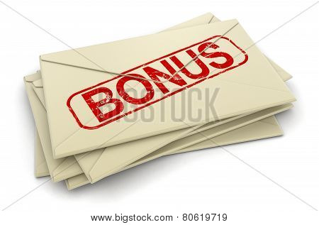 Bonus letters  (clipping path included)