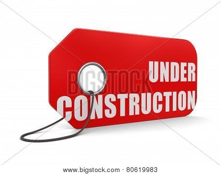 Label Under construction (clipping path included)