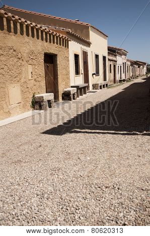san salvatore sinis cabras old west village
