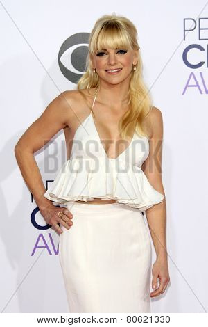 LOS ANGELES - JAN 7: Anna Faris at the 2015 People's Choice Awards at Nokia Theater L.A. Live on January 7, 2015 in Los Angeles, California