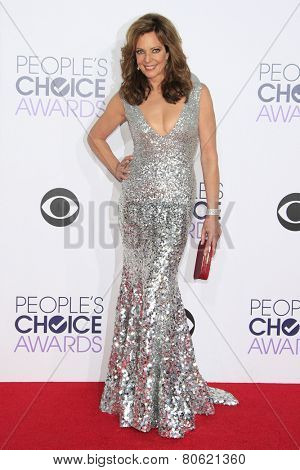 LOS ANGELES - JAN 7: Allison Janney at the 2015 People's Choice Awards at Nokia Theater L.A. Live on January 7, 2015 in Los Angeles, California