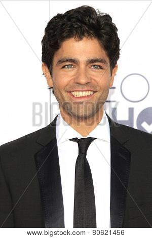 LOS ANGELES - JAN 7: Adrian Grenier at the 2015 People's Choice Awards at Nokia Theater L.A. Live on January 7, 2015 in Los Angeles, California