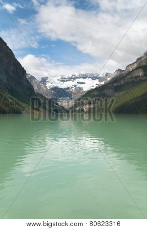 Canadian Landscape In Lake Louise. Alberta. Canada