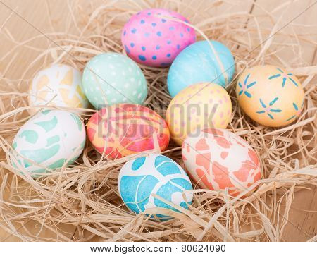 Bunch Of Easter Eggs