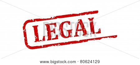 Red Stamp - Legal