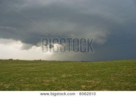 Severe Thunderstorm Supercell