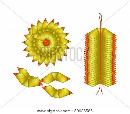 Chinese Gold Made of Joss Paper for Special Occasion