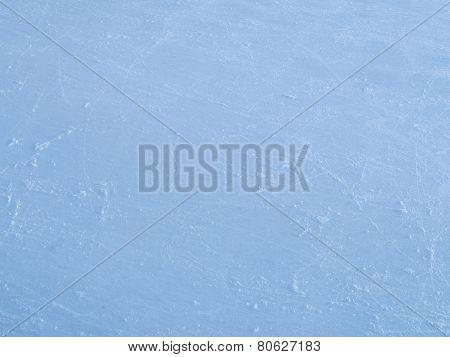 Beautiful Delicate Blue Ice