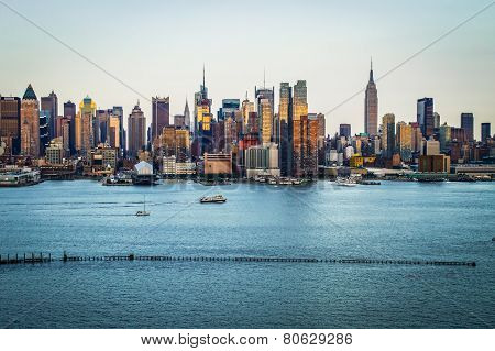 New York Skyline Day 2014