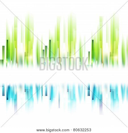 Abstract Spring Urban Background For Your Text