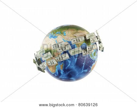 Money Around Earth