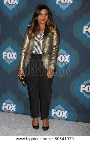 LOS ANGELES - JAN 17:  Mindy Kaling at the FOX TCA Winter 2015 at a The Langham Huntington Hotel on January 17, 2015 in Pasadena, CA