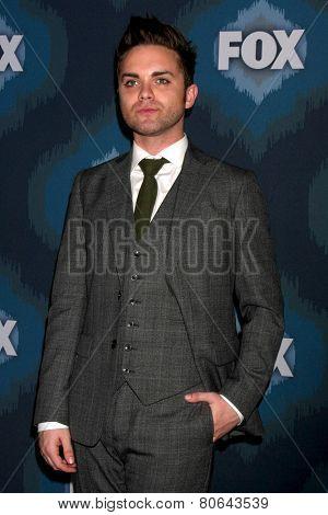 LOS ANGELES - JAN 17:  Thomas Dekker at the FOX TCA Winter 2015 at a The Langham Huntington Hotel on January 17, 2015 in Pasadena, CA