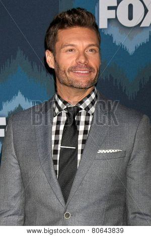 LOS ANGELES - JAN 17:  Ryan Seacrest at the FOX TCA Winter 2015 at a The Langham Huntington Hotel on January 17, 2015 in Pasadena, CA
