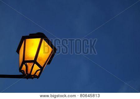 Classic Street Lamp Detail
