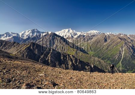 Mountains In Kyrgyzstan