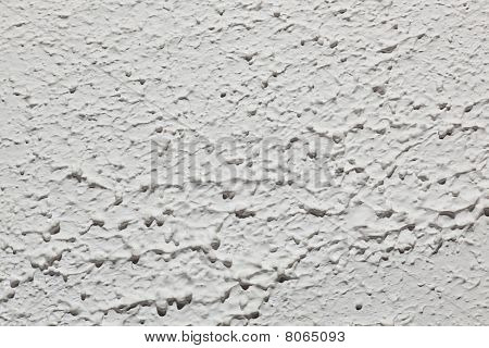 White Stipple Paint Background