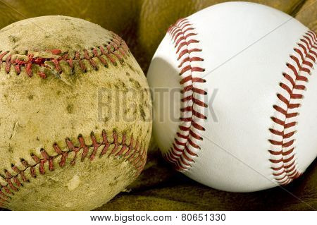 Old And New Baseball
