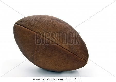 Old Vintage Football Isolated