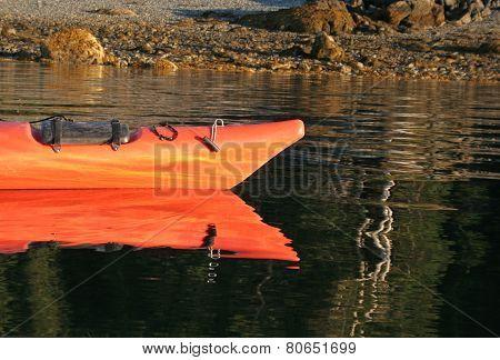 Sea Kayak Reflection
