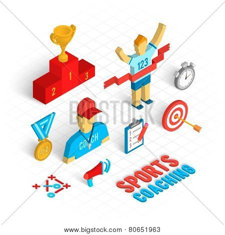 Sport Coaching Isometric Set