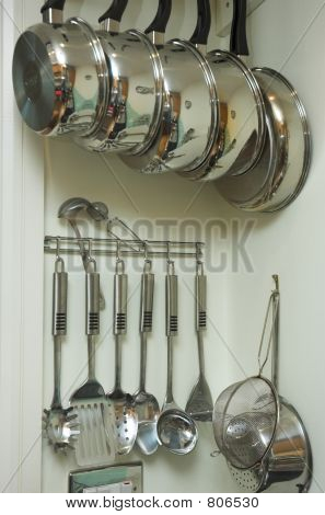 Apartment kitchen detail