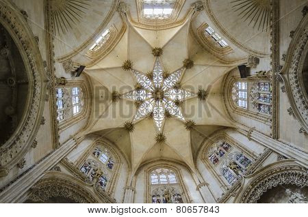 Gothic cathedral interior