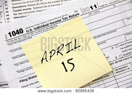 Income Tax Deadline
