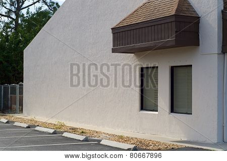 Outside Building Wall Blank