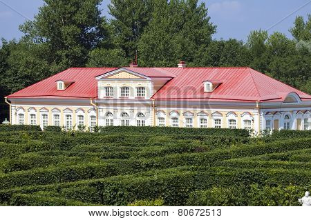 Picture house. Oranienbaum (Lomonosov). Lower park