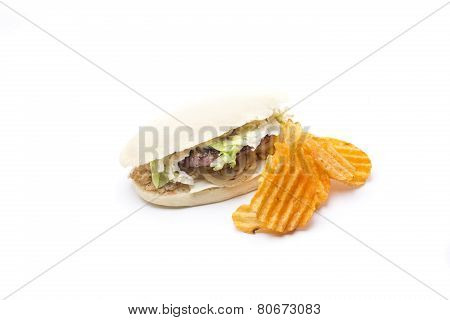 Burguer And Chips