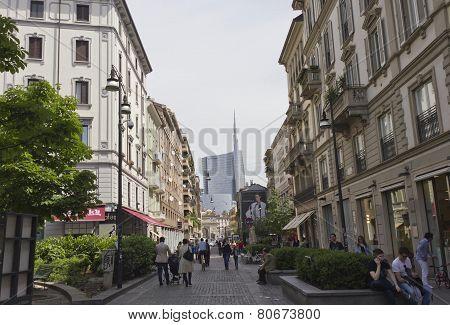 Corso Garibaldi In Milan