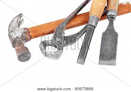 Set of work tool