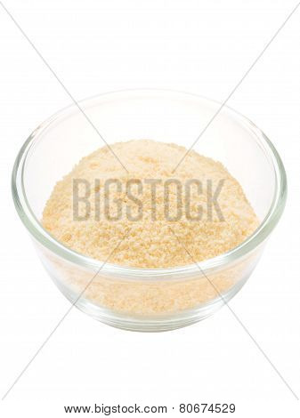 Grated Parmesan Cheese Isolated