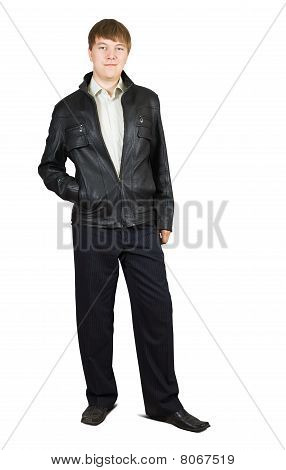 Casual Man In  Jacket