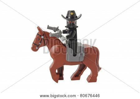 Sheriff Not-a-robot Lego Minifigure