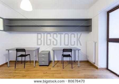 Desks In Study Room
