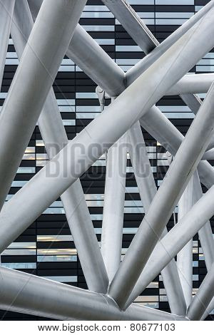 Abstract Modern Architecture Detail