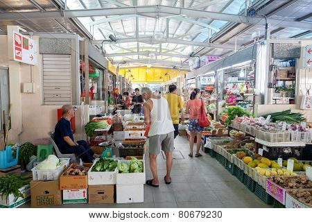 Wet Market In Singapore